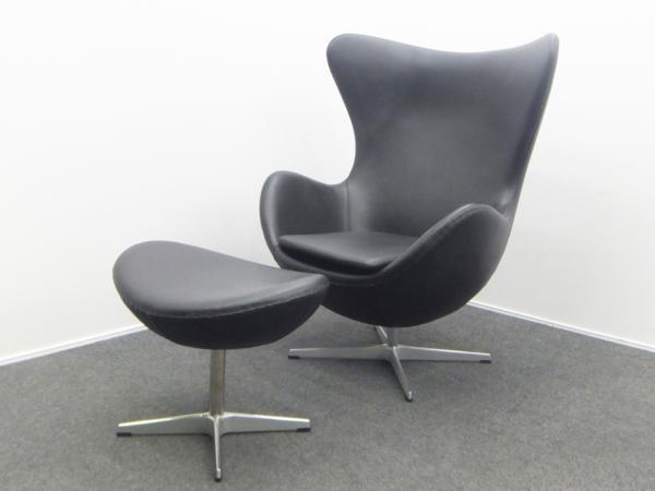 Arne Jacobsen(アルネ・ヤコブセン)Egg Chair エッグチェア 革張り