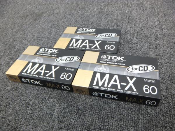 TDK メタルカセットテープ MA-X60