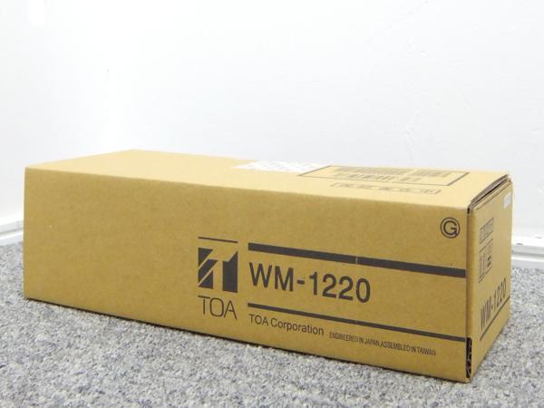 TOA トーア 800MHz ワイヤレスマイク ハンド型 WM-1220