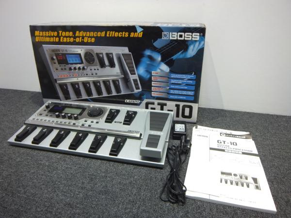 BOSS ボス GT-10 ギターエフェクトプロセッサー
