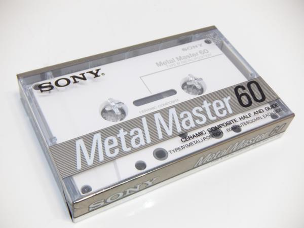 SONY ソニー MetalMaster60 メタルマスター60 60分 カセットテープ