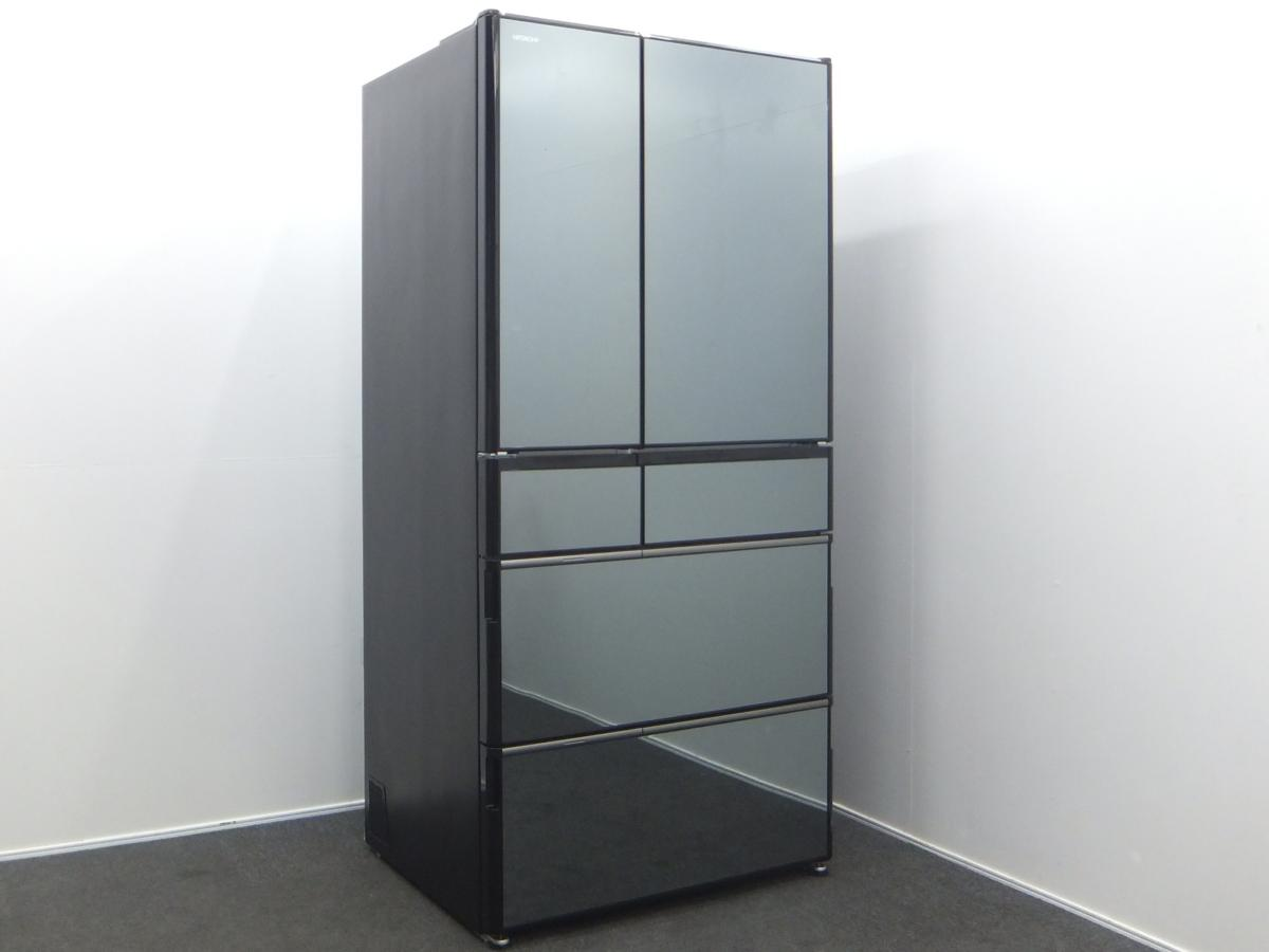 HITACHI 日立 6ドア冷凍冷蔵庫 R-WX7400G