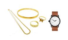 雑貨のはかり買い 腕時計、ネックレス指輪