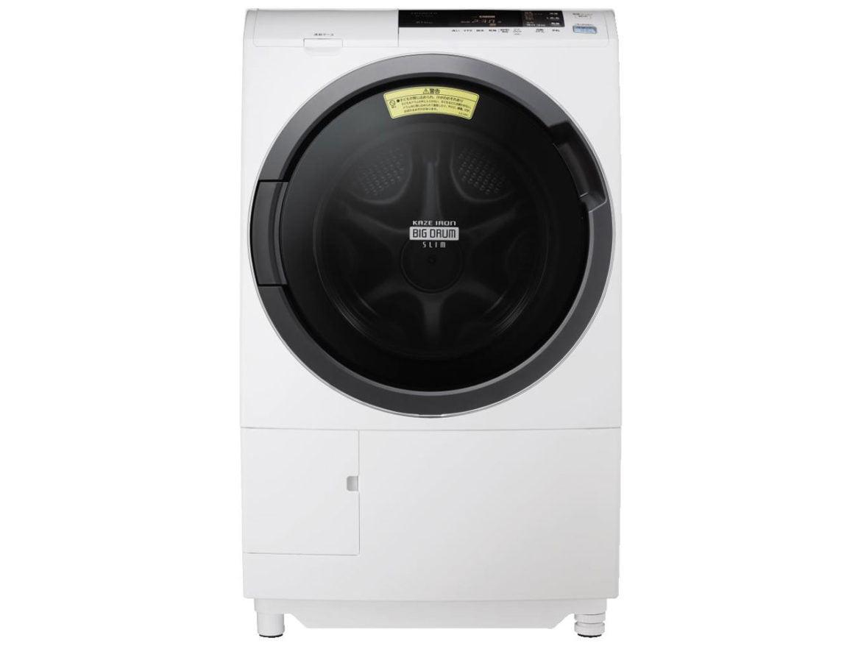 日立 ビッグドラムスリム ドラム式洗濯乾燥機 BD-S3800L