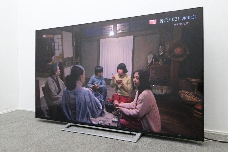 東芝 REGZA レグザ 4K 65インチテレビ 65M520X 2018年製