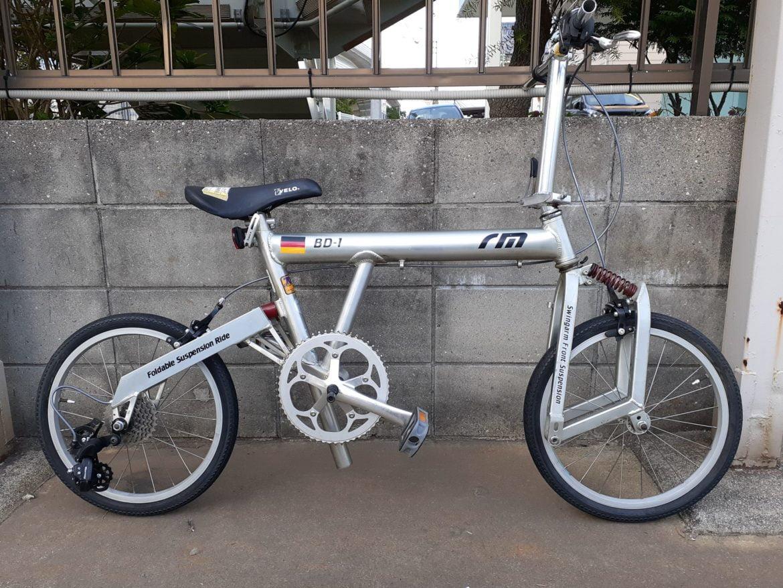 1999年モデル BD-1(Birdy)折りたたみ自転車 ミニベロ Markus Riese(マーカス・リーズ) Heiko Mueller(ハイコ・ミューラー)