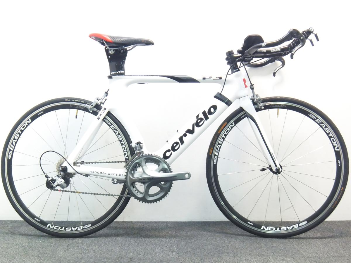 2012 Cervelo P3 Shimano Ultegra Bike 650c carbon サーベロ アルテグラ ロードバイク トライアスロン 完成車 カーボン