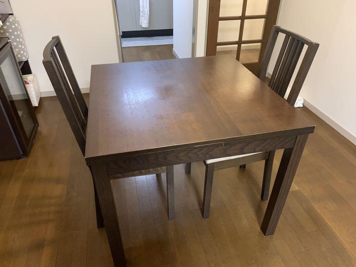 IKEA イケア BJURSTA ビュースタ 伸長式ダイニングテーブル