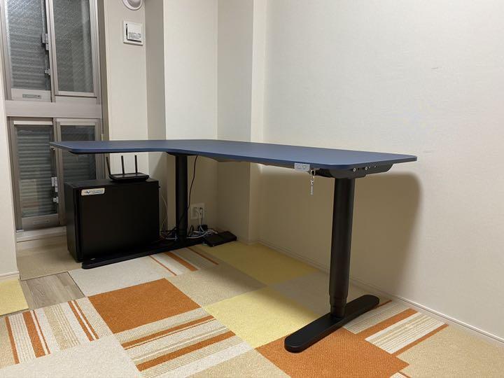 IKEA イケアBEKANT ベカント コーナーデスク 左コーナー 電動昇降デスク