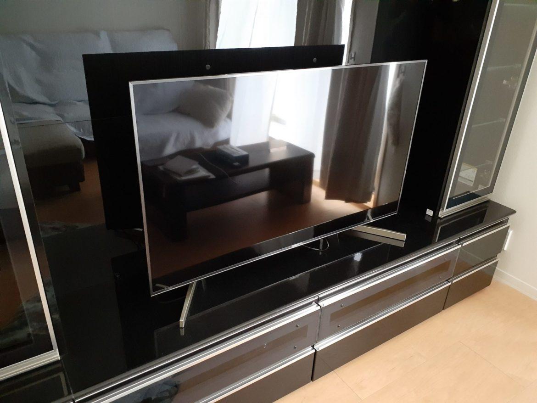2018年製 SONY BRAVIA KJ-49X9000F ソニー ブラビア 49インチ 4K液晶テレビ/ ハイタイプテレビボード(ブラック)