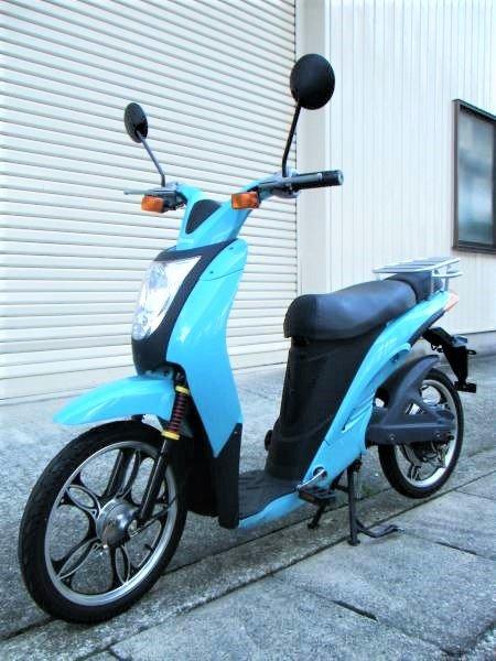 Prozza Miletto プロッツァ ミレット 電動スクーター (原動機付自転車免許)
