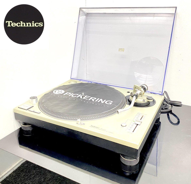 Technics テクニクス ターンテーブル SL-1200MK5クォーツシンセサイザーD.D.プレーヤー